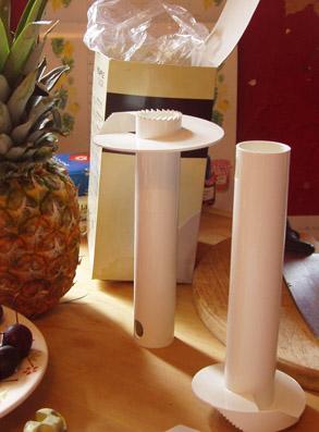 パイナップル皮むき器