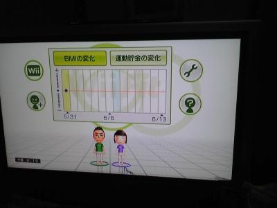 Wii2人並んで