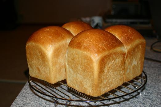 我が家の手作りパン