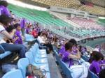 大阪長居スタジアムから、日が変わって帰宅した。