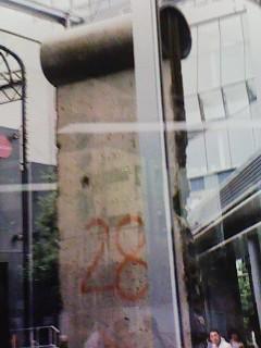 ベルリンの壁東側