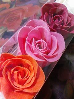 薔薇せっけん斜め