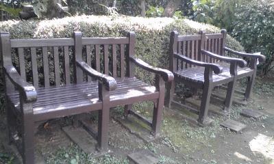 宣教師館庭椅子