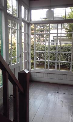 宣教師館廊下