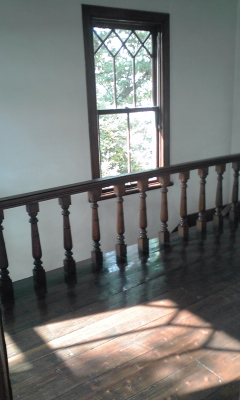 宣教師館窓影