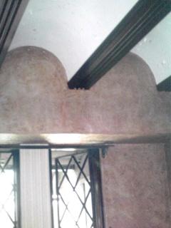 かまぼこ天井