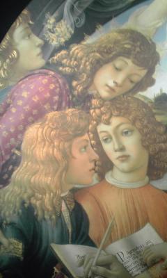 天使と青年たち