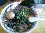 ハングリードラゴン 長浜チャーシューメン+煮玉子 08.8.10