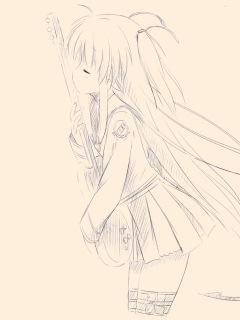 待ち受け-Angel Beats!