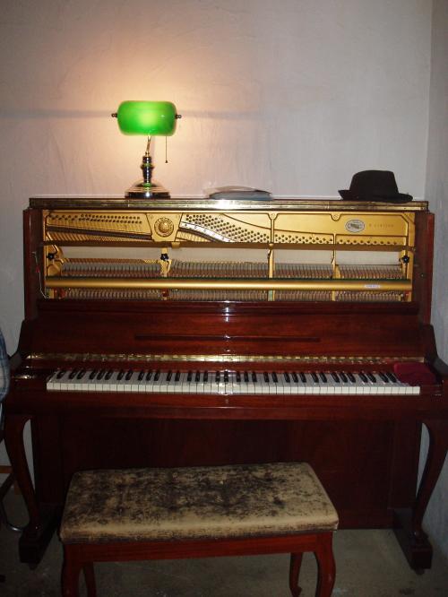 〝鍵盤をちょっとポロポロしてしまったら、整調の仕方が面白くて、実はまた触ってみたかったり。