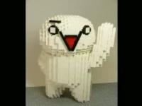 レゴブロックで作られた2ちゃんねるを象徴するAA達