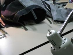 バンザイ縫い