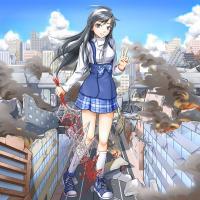 街破壊巨大少女幻想1