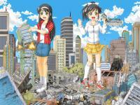 街破壊巨大少女幻想5A