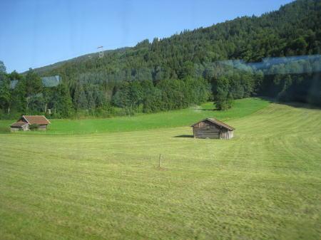 車窓からの眺め