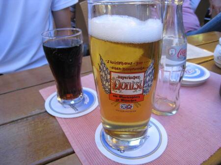 ビールとコーラ