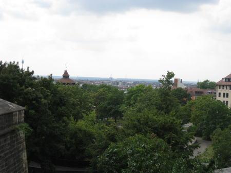 お城からの眺め