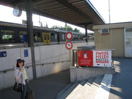 マイエンフェルトの駅