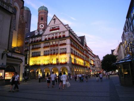 ミュンヘンの町並み