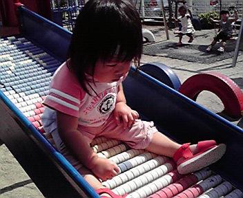親子遊び園庭
