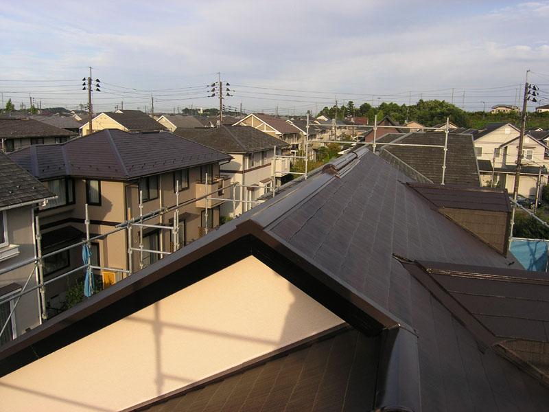 塗装完了 屋根