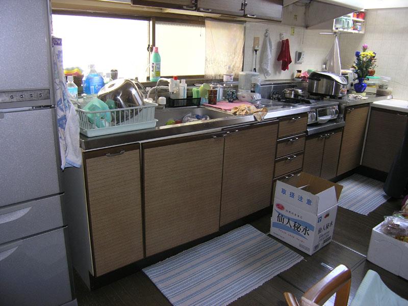 キッチン改装前