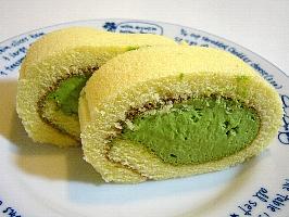 濃茶ロールケーキ