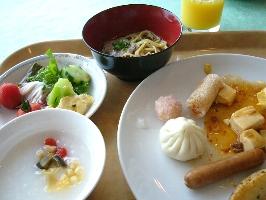 中国料理の朝食