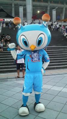 フリ丸(at横浜国際、9/4日本代表vsパラグアイ代表戦にて)
