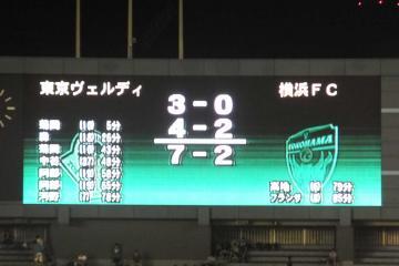 両チーム計9ゴールも、その差は歴然・・・