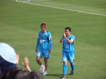 MVPの西田選手とMIPの柳沢選手