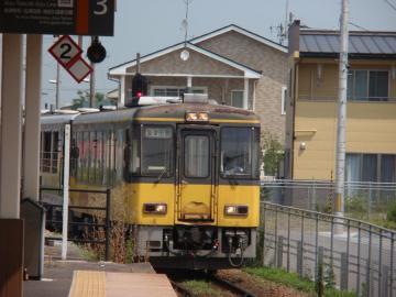 会津鉄道のトロッコ列車「会津浪漫号」