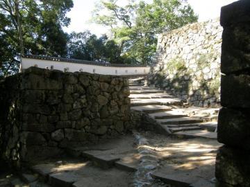 備中松山城の大手門