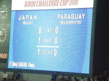試合は香川のゴールを守りきった日本代表の勝利