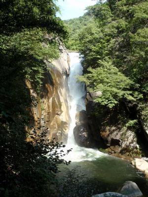 昇仙峡の名所でもある仙娥滝