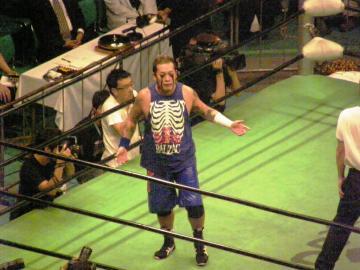 プロレスリング・ノアの大会に出場した時のNOSAWA論外