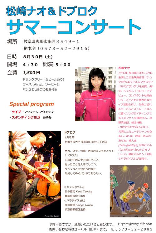 08サマーコンサート