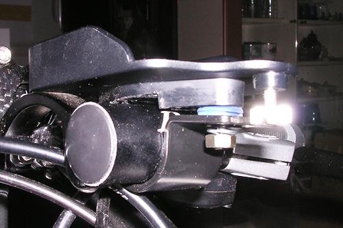 サイクルコンピューター ブラケット