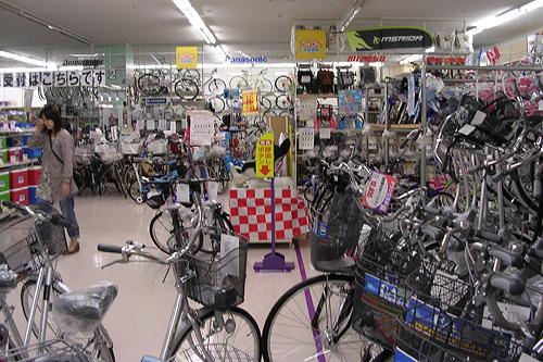 りんりん自転車館