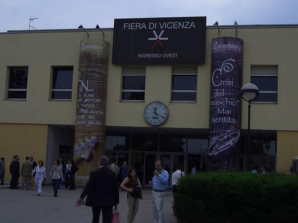 Vicenzaゴールドフェアー会場