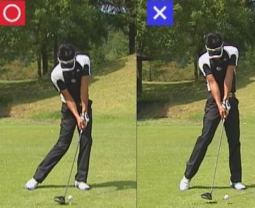左主体右足は蹴り上げるより押し込む