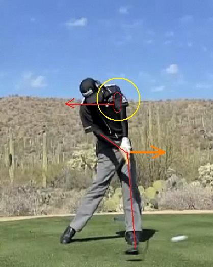 、インパクト 右手首 左肩外転 下方回旋 下制 2