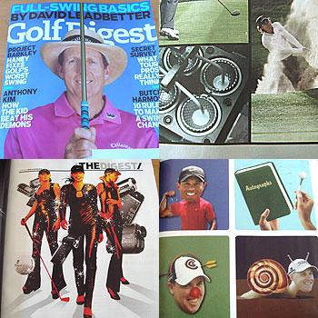 Golf Digest が届きました.