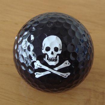 おもしろゴルフボール、販売します