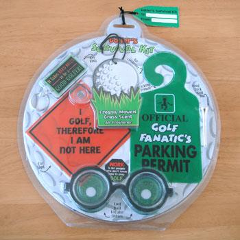 ゴルフおもしろ雑貨セット!