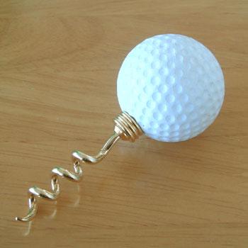 ゴルフボール型 ワインコルク抜き
