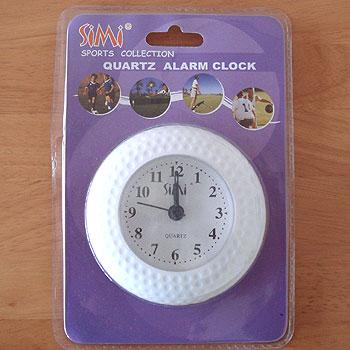 ゴルフボール型 卓上時計