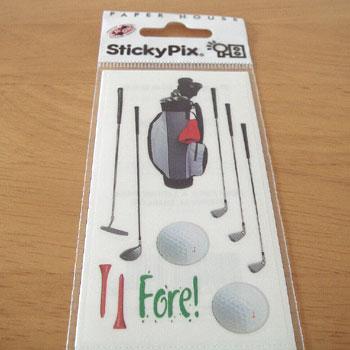 ゴルフモチーフ!シール