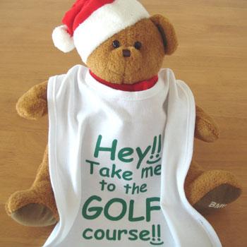 ゴルフ!よだれかけ