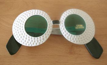 ゴルフ!おもしろサングラス!